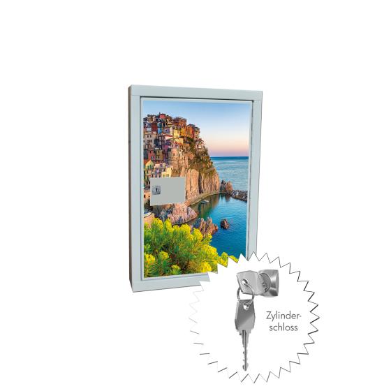 """Schlüsselkasten zur Wandmontage / Design """"Felsen"""""""