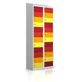 Premium Ladeschrank - 24 USB Ladefächer - Frischekick - Schlüssel