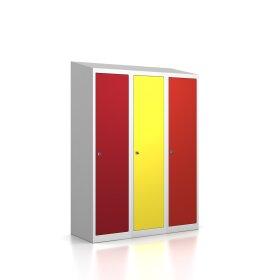 Premium Spindschrank - 3 Fächer - Serie MINI - Frischekick - Schlüssel