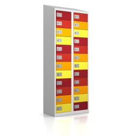 High End Wertfachschrank - 24 Fächer - Frischekick - elektronisches Schloss