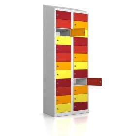 Premium Wertfachschrank - 24 Fächer - Frischekick - Schlüssel