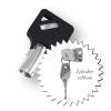 Hauptschlüssel für Schlüsselschlösser
