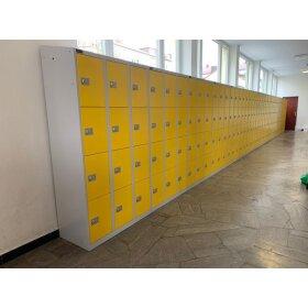 Schließfachschrank - Größe L - 8 Fächer