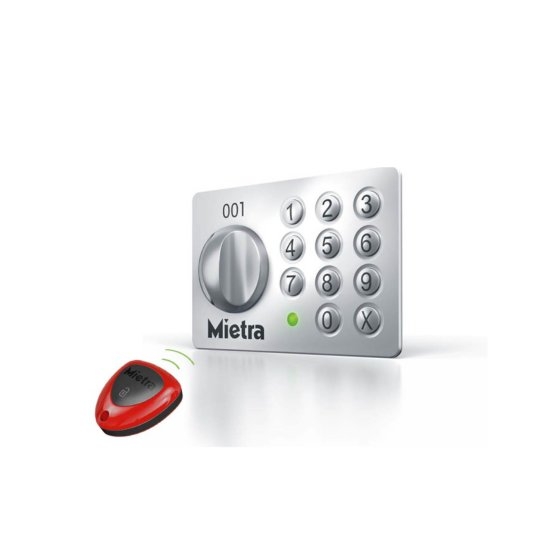 Hauptschlüssel für elektronisches Tastenschloss