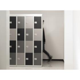 Schließfachschrank - Größe L - 12 Fächer Design 417 Mondschein easyPIN V3
