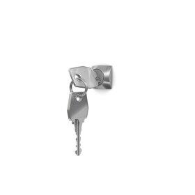 Gebrauchter Schließfachschrank mit 15 Fächern / RAL 5012